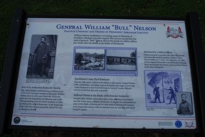 "General William ""Bull"" Nelson Marker image. Click for full size."