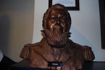 "Battle of Richmond Visitor Center General William ""Bull"" Nelson Bust image. Click for full size."