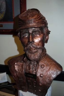 Patrick Ronayne Cleburne Bust image. Click for full size.