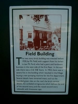 Field Building Marker image. Click for full size.