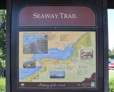 Seaway Trail Marker image. Click for full size.