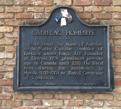 Cadillac Homesite Marker image. Click for full size.