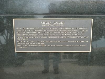 Citizen Soldier Marker image. Click for full size.