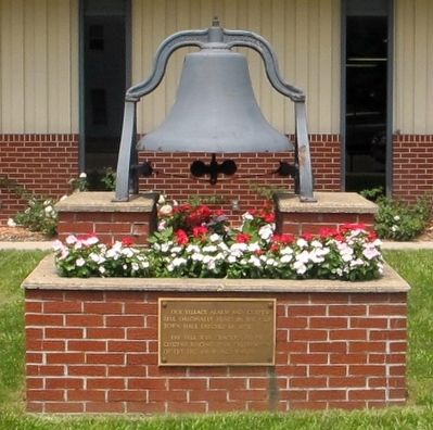 North Lewisburg Fire Bell Marker image. Click for full size.