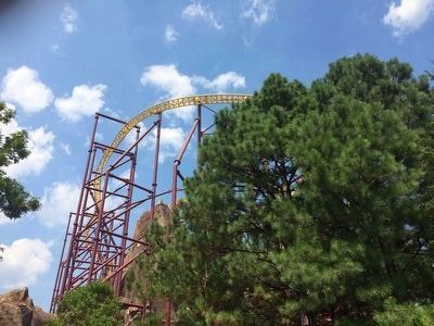 Volcano: The Blast Coaster Photo, Click for full size