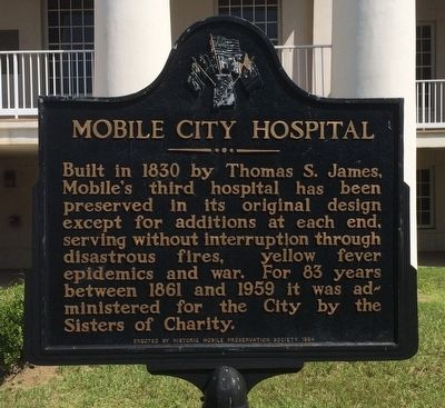 Mobile City Hospital Marker image. Click for full size.