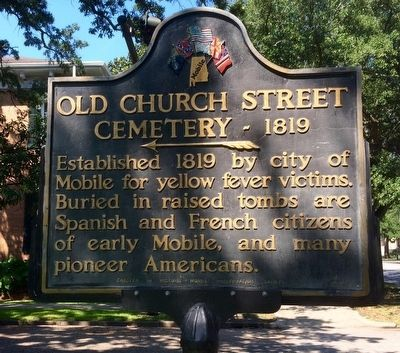 Old Church Street Cemetery - 1819 Marker image. Click for full size.
