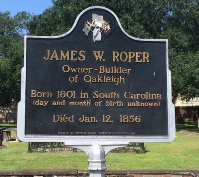 James W. Roper Marker image. Click for full size.