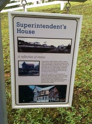 Superintendent's House Marker image. Click for full size.