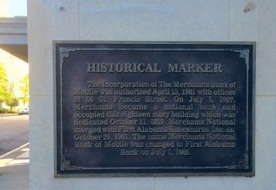 Merchants National Bank Building Marker image. Click for full size.