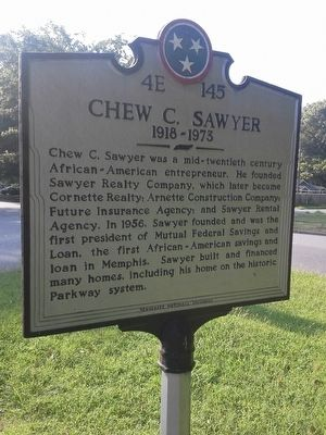Chew C. Sawyer Marker image. Click for full size.