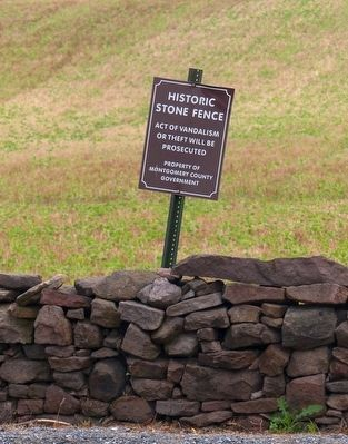 Historic Stone Fence image. Click for full size.