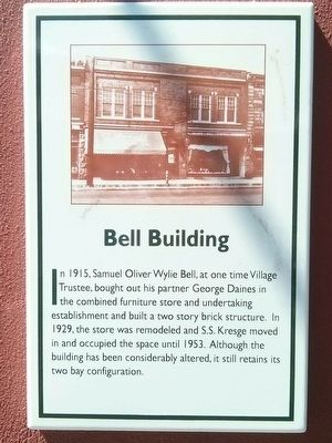 Bell Building Marker image. Click for full size.