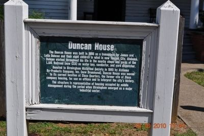 Duncan House Marker image. Click for full size.