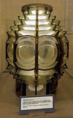 Fifth Order Fresnel Lens image. Click for full size.