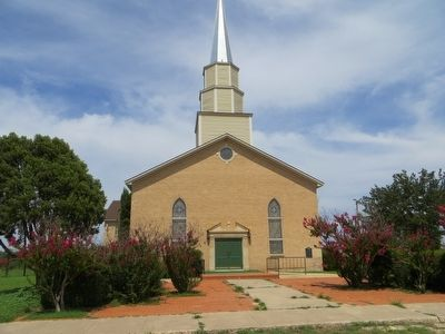 First Christian Church of Big Spring image. Click for full size.