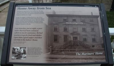The Mariner's Home Marker image. Click for full size.