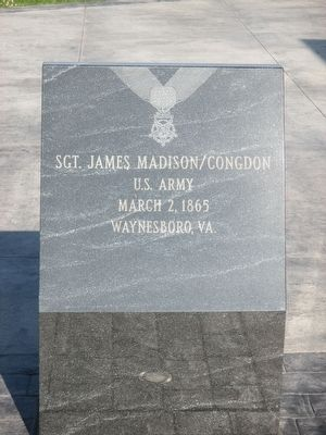 Sgt. James Madison/Congdon image. Click for full size.