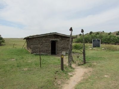 Windlass Hill Pioneer Homestead and Marker Photo, Click for full size