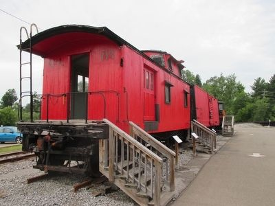 Caboose #303 Access image. Click for full size.