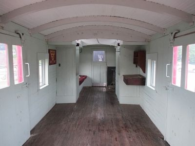 Inside Caboose #303 image. Click for full size.