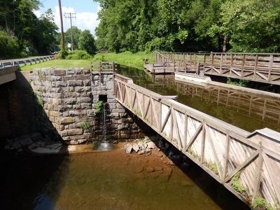 Delaware Canal Lock 21 image. Click for full size.