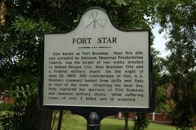 Fort Star Marker image. Click for full size.