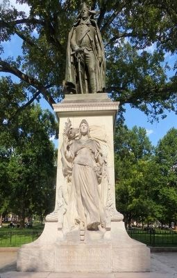 Commodore John Barry Monument image. Click for full size.