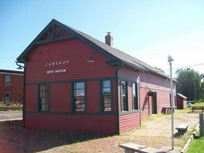 Cameron Railroads Depot image. Click for full size.