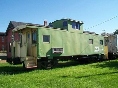 Cameron Railroads BN Caboose image. Click for full size.