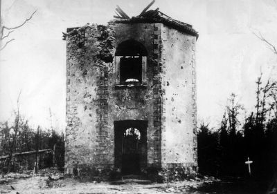 Damaged Hunting Lodge image. Click for full size.