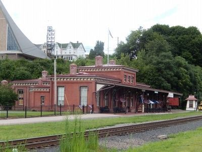 Little Schuylkill Railroad Station image. Click for full size.