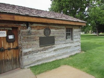 Original Pony Express Station Marker image. Click for full size.