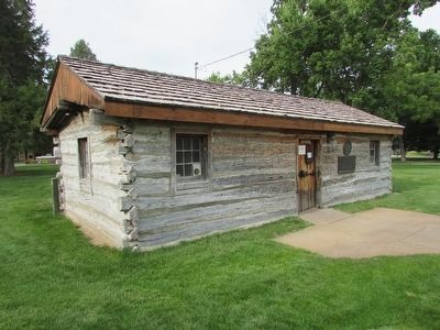 Original Pony Express Station image. Click for full size.