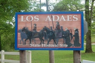 Los Adaes Site image. Click for full size.
