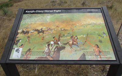 Keogh – Crazy Horse Fight Marker image. Click for full size.