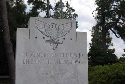 Aiken Vietnam War Monument image. Click for full size.