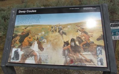 Deep Coulee Marker image. Click for full size.