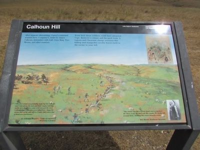 Calhoun Hill Marker image. Click for full size.