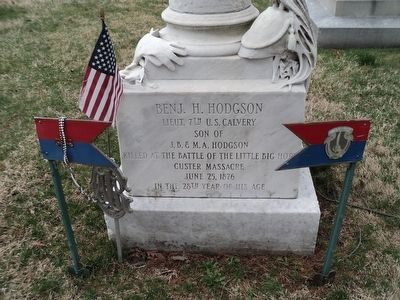 7th Cavalry Officer Grave image. Click for full size.