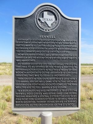 Penwell Marker image. Click for full size.