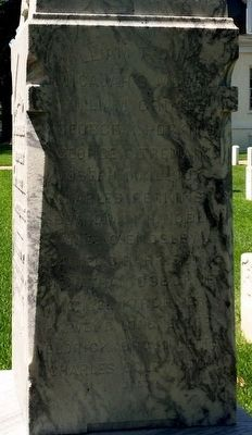 Battle of Fort Blakely Monument (East Side) image. Click for full size.