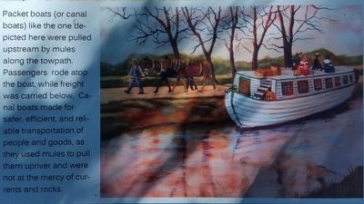 Early Transportation on the James River Marker image. Click for full size.