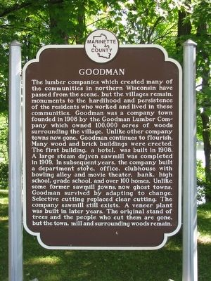 Goodman Marker image. Click for full size.