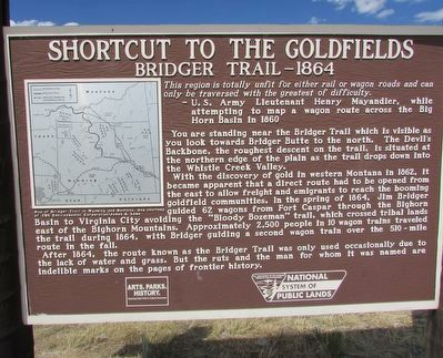 Shortcut to the Goldfields Marker image. Click for full size.