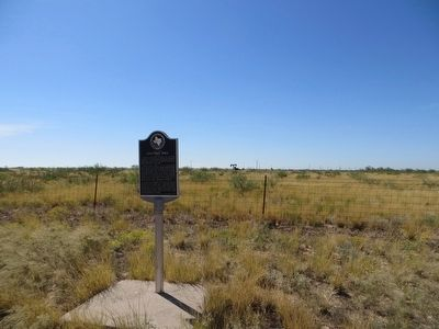 Ector County Discovery Well Marker image. Click for full size.