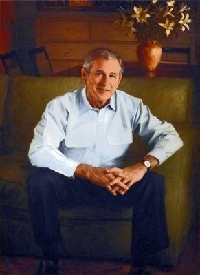 George W. Bush image. Click for full size.