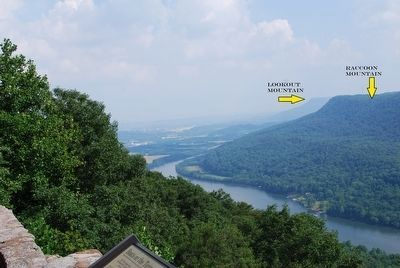 Tennessee River from the Marker image. Click for full size.