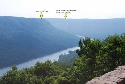 Tennessee River from Signal Point image. Click for full size.