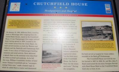 Crutchfield House Marker image. Click for full size.